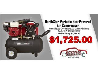 NorthStar Portable Gas-Powered Air Compressor, ECONO TOOLS Puerto Rico
