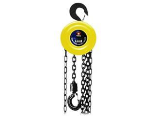 Chain Hoist with 2 Hooks, 1 Ton Capacity, ECONO TOOLS Puerto Rico