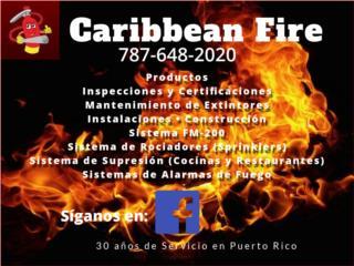 Sistema de Rociadores (Sprinklers), CARIBBEAN FIRE EQUIPMENT CORP. Puerto Rico