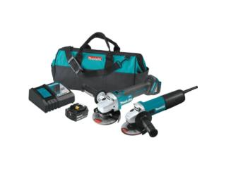 18-Volt LXT 4-1/2 in. Angle Grinder Kit , ECONO TOOLS Puerto Rico