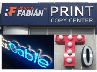 Barranquitas Puerto Rico Equipo Comercial-Restaurantes y Cocinas, Rotulos Letras Led Servicio para Rotulistas