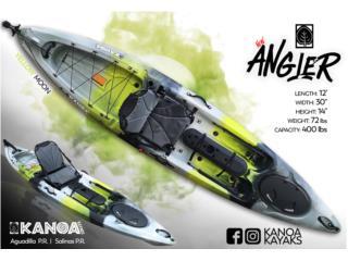 Llegarón los KANOA ANGLER 2019, KANOA kayaks Puerto Rico