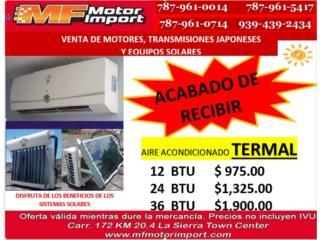 AIRES ACONDICIONADO TERMAL, Mf motor import Puerto Rico