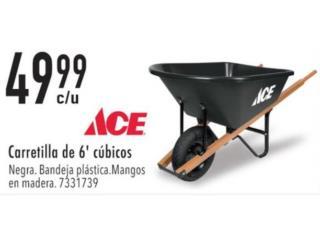 Carretilla de 6' cúbicos , Ferreteria Ace Berrios Puerto Rico