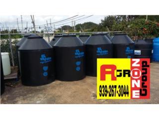 Cisterna 250 gal , Agro Zone Manatí  Puerto Rico