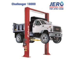 Challenger Lifts 2 Post - Commercial Grade, JERO Industrial Puerto Rico
