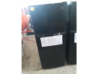 NEVERA NEGRA GE 10CU, COLON APPLIANCES PARTS DIST. Puerto Rico