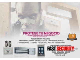 cerraduras magnética 300 lbs, FAST SECURITY  Puerto Rico