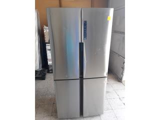 NEVERA SIDE BY SIDE STAINLESS STEEL HAIER, COLON APPLIANCES PARTS DIST. Puerto Rico