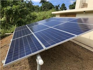 Sistema Solar con capacidad Off Grid, MULTI BATTERIES & FORKLIFT, CORP. Puerto Rico