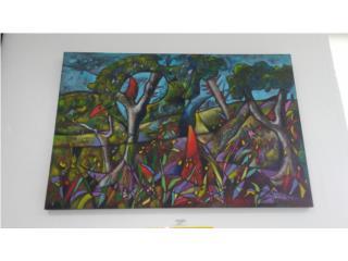 Arte Paisaje Borica, La Familia Casa de Empeño y Joyería-Ave Piñeiro Puerto Rico