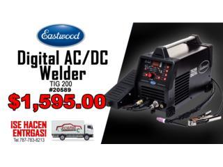 TIG 200 Digital AC/DC Welder, ECONO TOOLS Puerto Rico