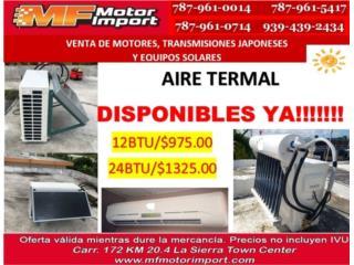 AIRE ACONDICIONADO TERMAL 12,000 BTU, Mf motor import Puerto Rico