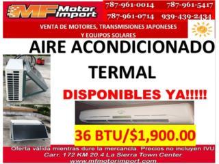 AIRE ACONDICIONADO 36,000 BTU , Mf motor import Puerto Rico