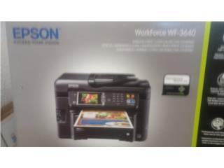 Printer-Scanner-Copy-Fax Epson WF 3640, Maritza Mere Puerto Rico