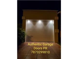 Puertas de garage tradicionales, Authentic Garage Doors PR Puerto Rico