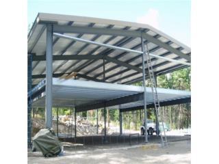 San Juan-Hato Rey Puerto Rico Equipo Construccion, Techos galvanizados entregado Toda la isla