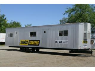 Office Trailers 8'x20', 10'x28', 12'x40', DUEÑAS TRAILERS Puerto Rico