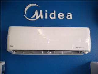Midea 12 btu seer19  $475 instalada, A.Ortiz refrigeration services. Puerto Rico