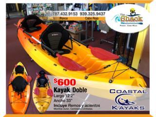 Coastal Kayaks 12.2 sencillo o doble, The SUP shack  Puerto Rico