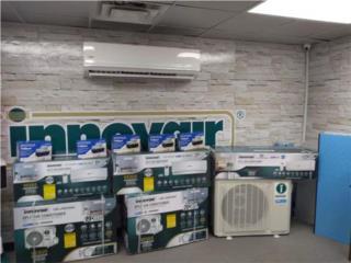 24 btu seer19  $895 instalada, A.Ortiz refrigeration services. Puerto Rico