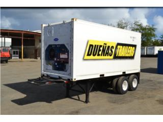 Guaynabo Puerto Rico Equipo Comercial, Reefer Trailers 20'