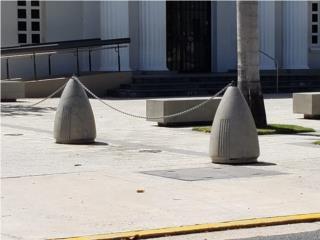 Bolardos, Ornamentación Quintana Puerto Rico