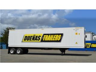 Isabela Puerto Rico Equipo Comercial, Reefer trailer 45'