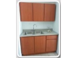 SET GABINETES MODERNO 4' , 5', 6' EN PVC, Homesolution, Corp Puerto Rico