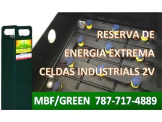 Bancos Baterías POWER HAWK 6kW hasta 65kW, MULTI BATTERIES & FORKLIFT, CORP. Puerto Rico
