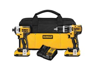 COMBO HAMMER DRILL & IMPACT DRIVER DEWALT   , RB TOOLS & EQUIPMENT Puerto Rico