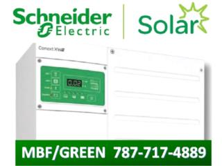 INVERSOR CONEXT XW+6.8 & 5.5KW SOLAR/BACK UP, MULTI BATTERIES & FORKLIFT, CORP. Puerto Rico