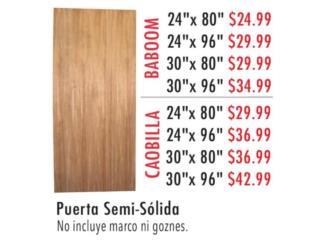 Puerta Semi- Sólida , Ferreteria Ace Berrios Puerto Rico