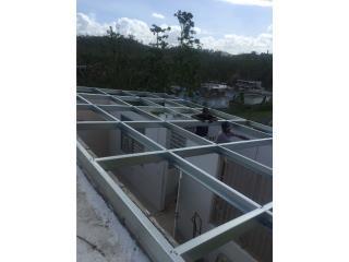 TECHOS GALVALUM , Instalaciones Negron Puerto Rico