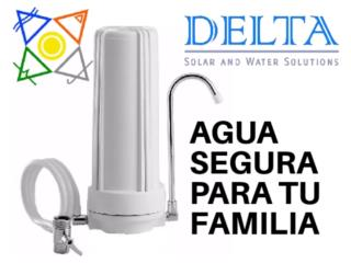 Purificadore de agua, DELTA SOLAR CORP. 787.413.4114 Puerto Rico