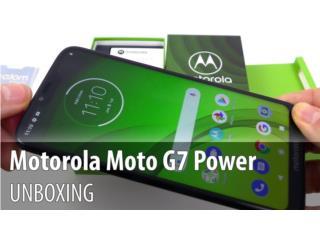 *NUEVO* MOTOROLA G7 POWER 64GB EN $249.00, MEGA CELLULARS INC. Puerto Rico
