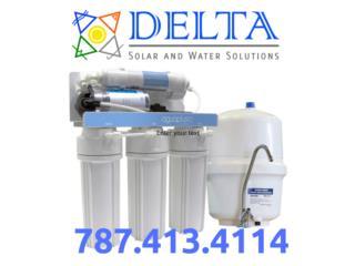 Purificador de agua, DELTA SOLAR CORP. 787.413.4114 Puerto Rico