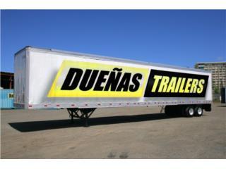 Trailer o vagón de 53', DUEÑAS TRAILERS Puerto Rico