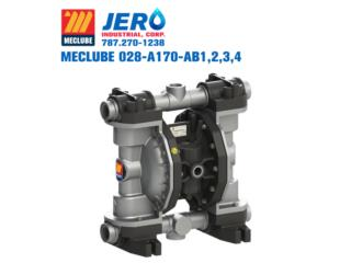 MECLUBE Air Operated Double Diaphragm Pumps, JERO Industrial Puerto Rico