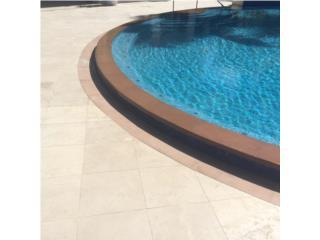 Bordes de piscinas modernos Pool Coping Losas, 713 Precast LLC Puerto Rico