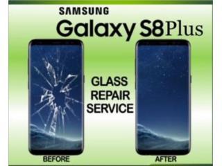 CRISTAL O LCD SAMSUNG S8/S8+/S9/S9+/ NOTE 8/9, MI CELULAR PR  Puerto Rico