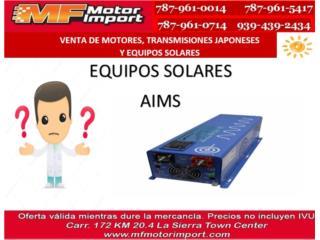 EQUIPO AIMS, Mf motor import Puerto Rico
