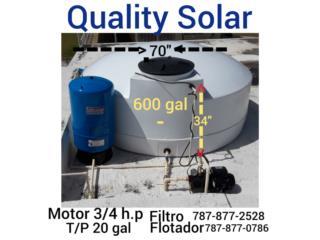 cisternas de politileno no algas, no limo, QUALITY POWER 787-517-0663 Puerto Rico