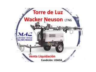 Torre de Luz - Light Tower - Wacker Neuson - , MAC Climber Puerto Rico