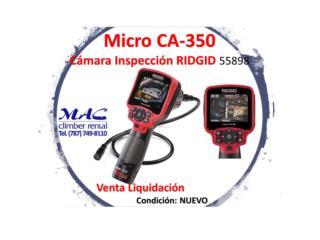 CA-350 camara RIDGID - 55898, MAC Climber Puerto Rico