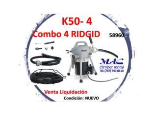 K50-4 COMBO 4 - RIDGID -58960, MAC Climber Puerto Rico