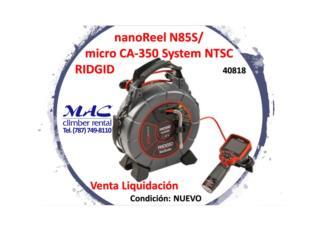 nanoReel N85s/ CA-350 -40818- Ridgid, MAC Climber Puerto Rico