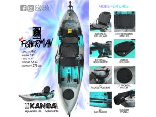 PRE-VENTA del nuevo KANOA Fisherman , KANOA kayaks Puerto Rico