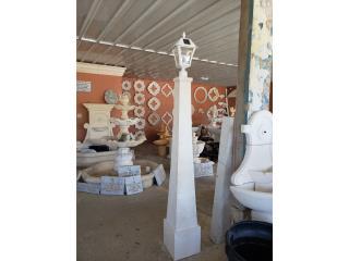 Faroles Postes, Ornamentación Quintana Puerto Rico