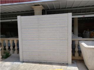 Verjas Pre fabricadas en concreto, Ornamentación Quintana Puerto Rico